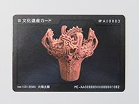 馬高縄文館でもらえる「文化遺産カード」